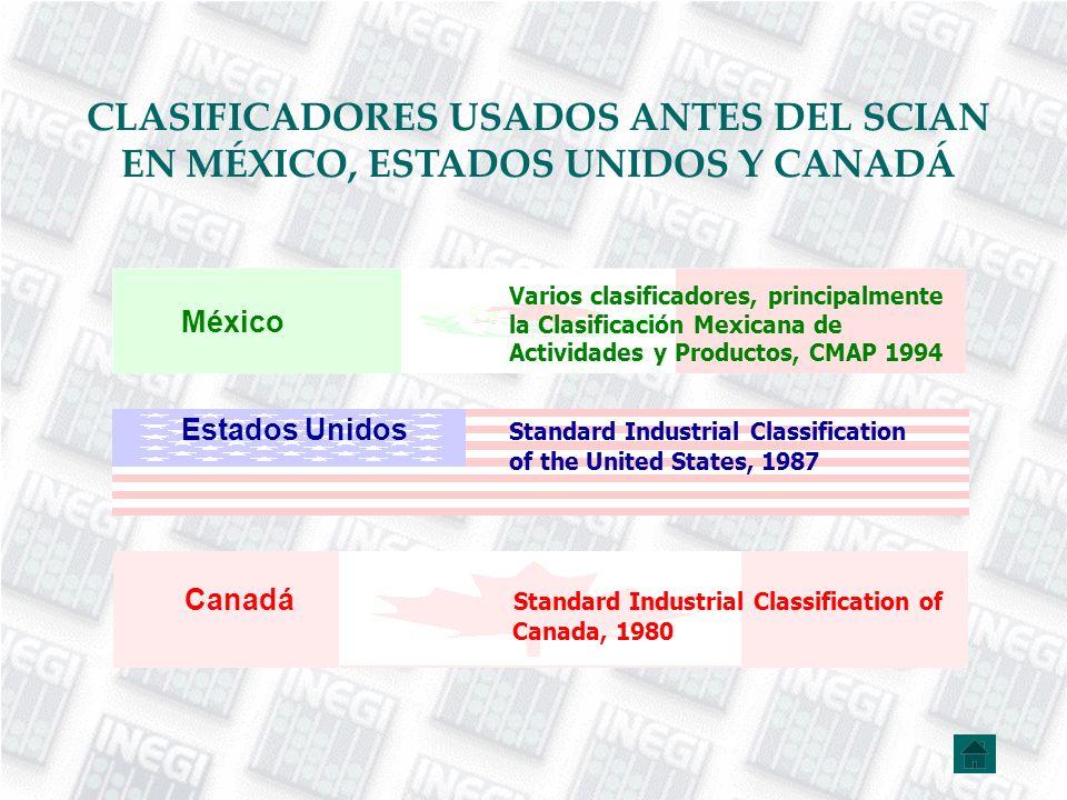 NÚMERO DE CATEGORÍAS DEL SCIAN MÉXICO 2002 (SCIAN MÉXICO 1997) continuación