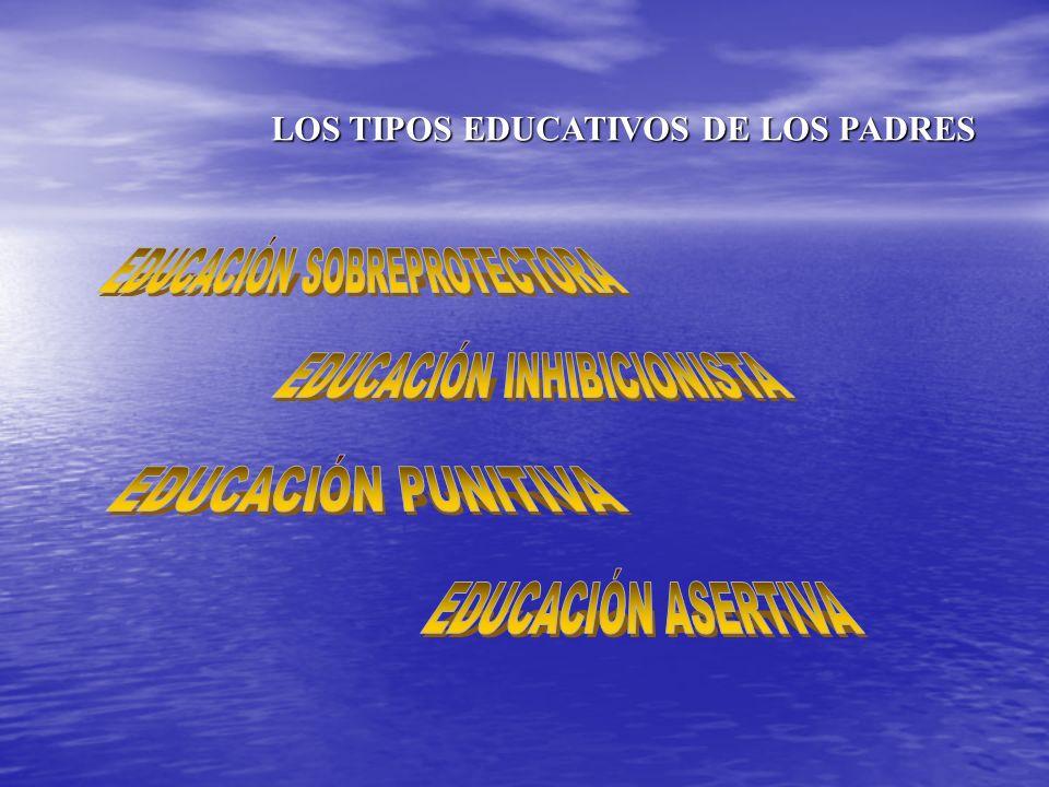 LOS TIPOS EDUCATIVOS DE LOS PADRES