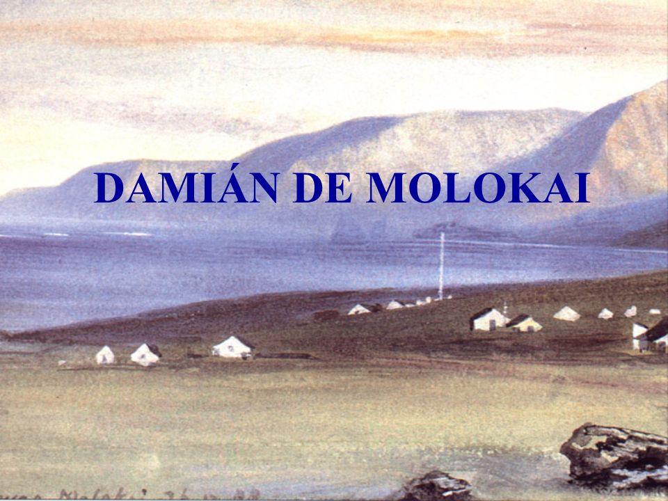 DAMIÁN DE MOLOKAI