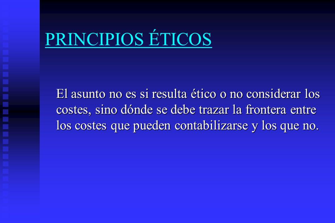 EVALUACION ECONOMICA Metodología (II) Presentación de resultados en términos incrementales.