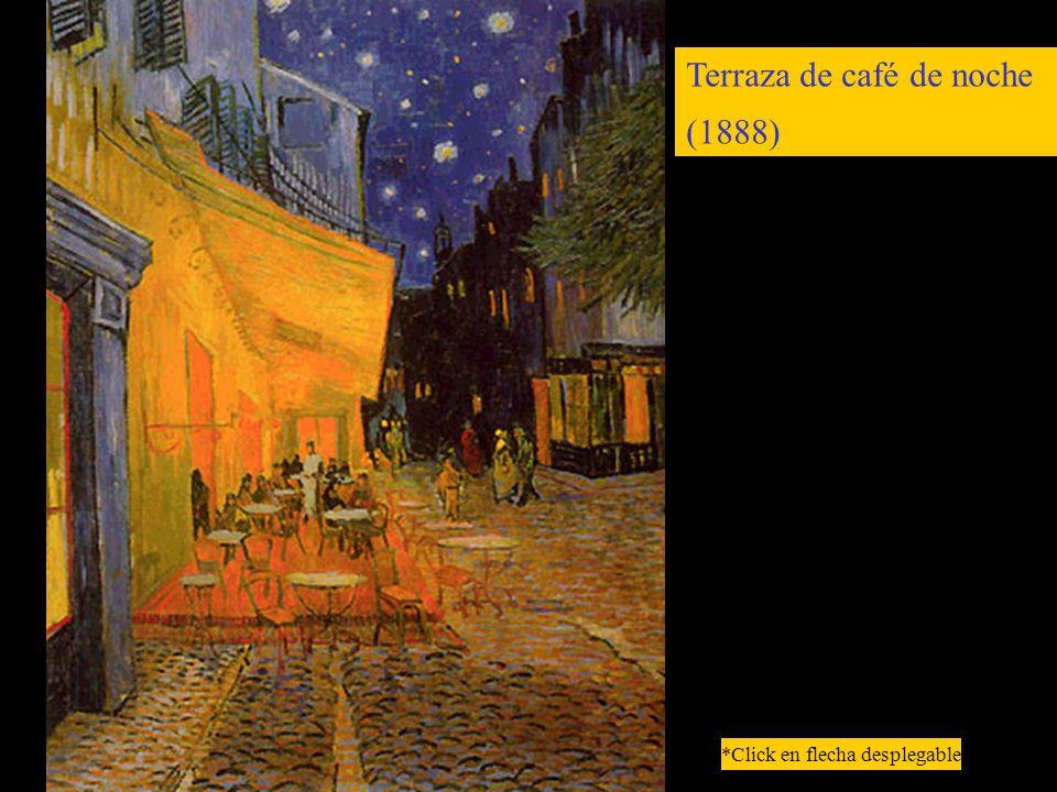 Terraza de café de noche (1888) *Click en flecha desplegable
