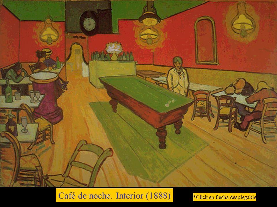 Café de noche. Interior (1888) *Click en flecha desplegable