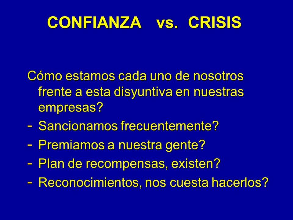 CONFIANZA vs.