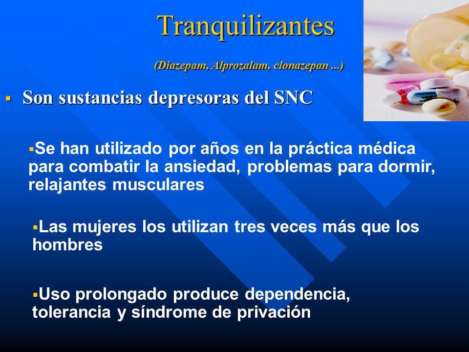 Consecuencias medicas n Taquicardia y arritmia, insuficiencia cardiaca n Muerte: asfixia, sofocacion o aspiracion n Accidentes n Neurotoxicidad (simil