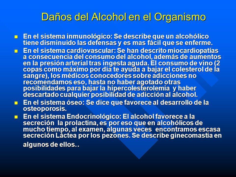 Factores Determinantes en el Alcoholismo en la POBLACIÓN Factores Sociales y Psicológicos 40% n Precio de las bebidas alcohólicas n Permisividad Famil