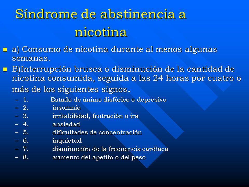 n Los cigarrillos y otras formas de tabaco son adictivas. n La nicotina es la droga del tabaco que causa la adicción. n Los procesos farmacológicos y