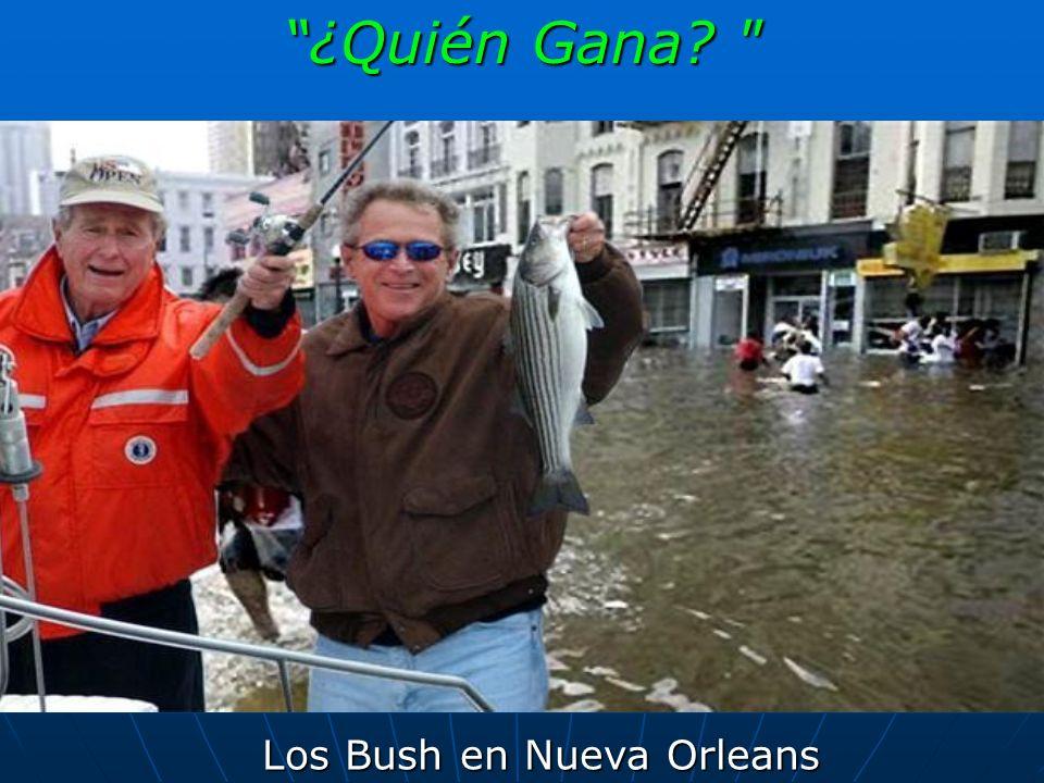 Los Bush en Nueva Orleans ¿Quién Gana?