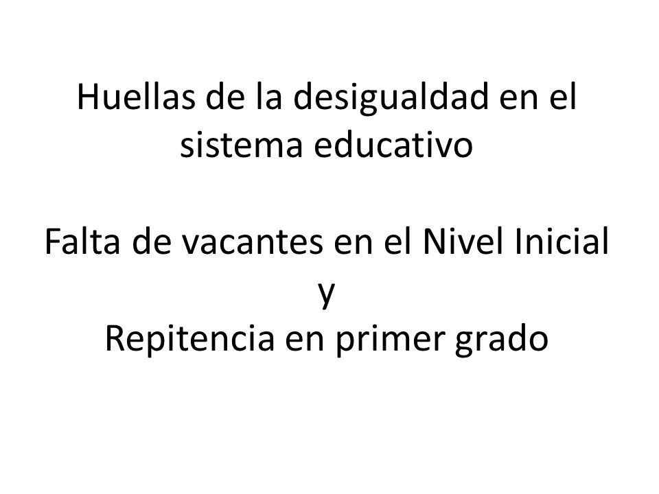 6.767 chic@s no tienen vacante en las escuelas públicas, que admiten niñ@s de entre 45 días y 5 años Falta de Vacantes Escolares en el nivel inicial en la Ciudad de Buenos Aires.