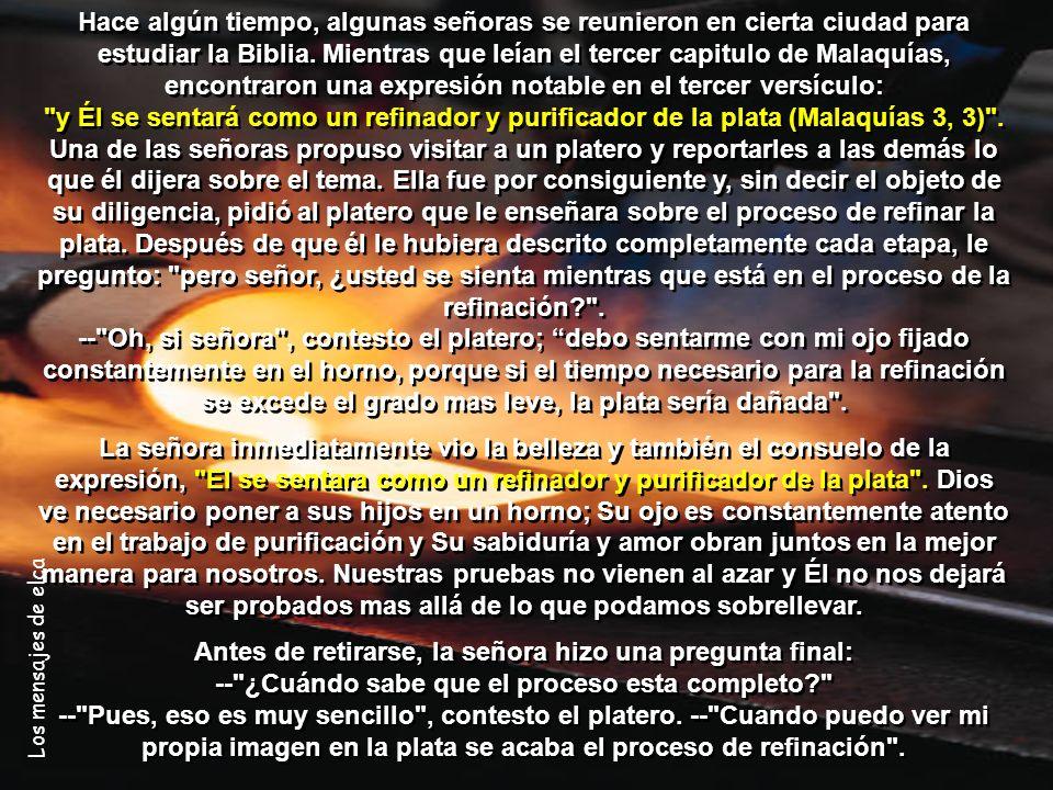 Los mensajes de elca Por: Daniel Liandro Correocristiano