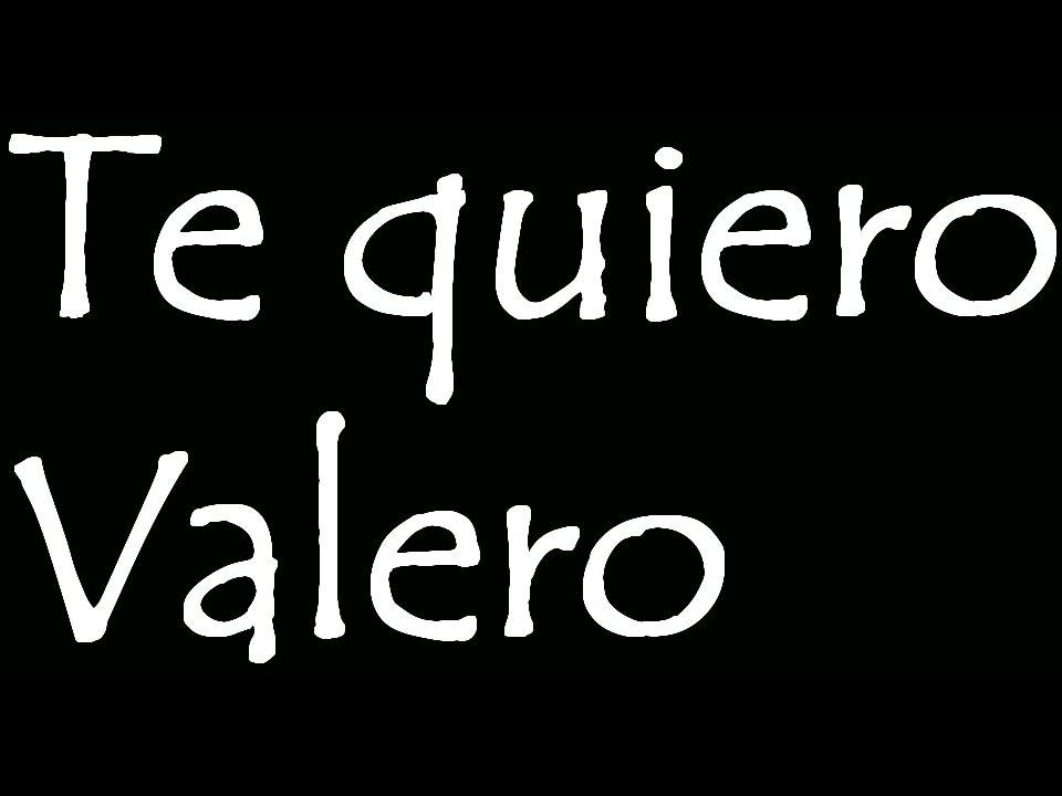 Aunque, Valero si Valero no te gusta, puedes llamarlo ÁngelLorenzo Ángel o Lorenzo.
