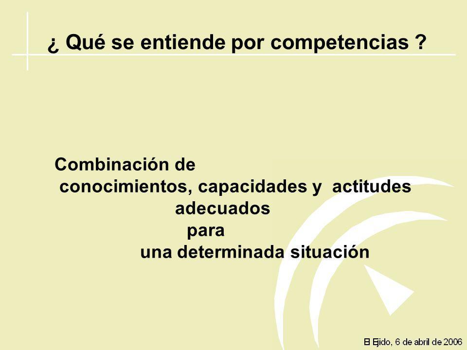 COMPETENCIAS Destrezas básicas Formación Básica Competencias clave Competencias clave