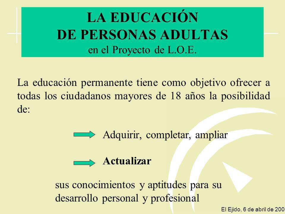 educación secundaria postobligatoria o equivalente debe facilitar que toda la población llegue a alcanzar una formación de El sistema educativo El Eji