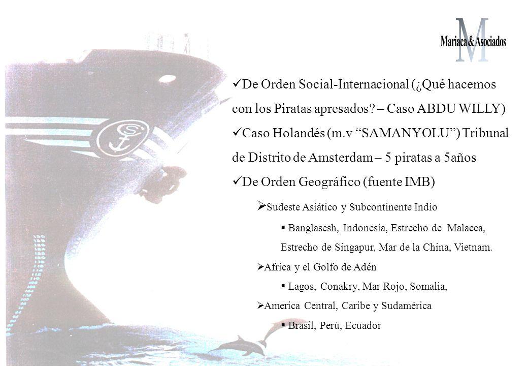 De Orden Social-Internacional (¿Qué hacemos con los Piratas apresados.