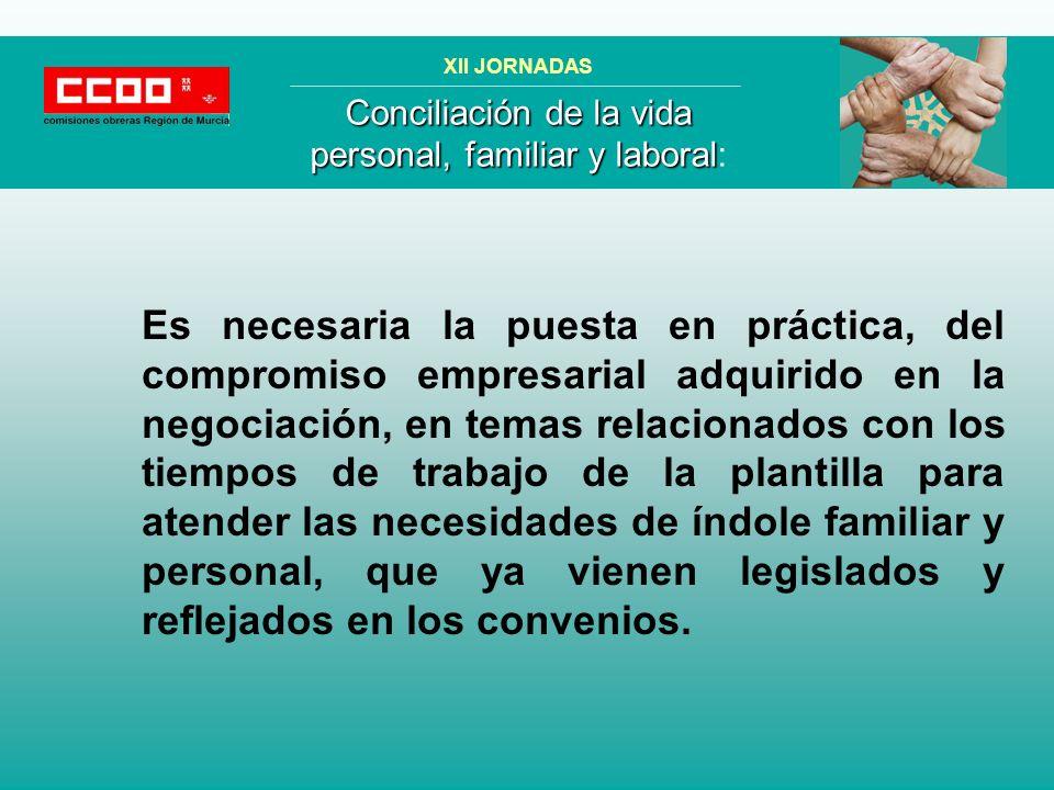 MEJORANDO EL AMBIENTE DE TRABAJO, LA PRODUCTIVIDAD Y LA CONCILIACIÓN