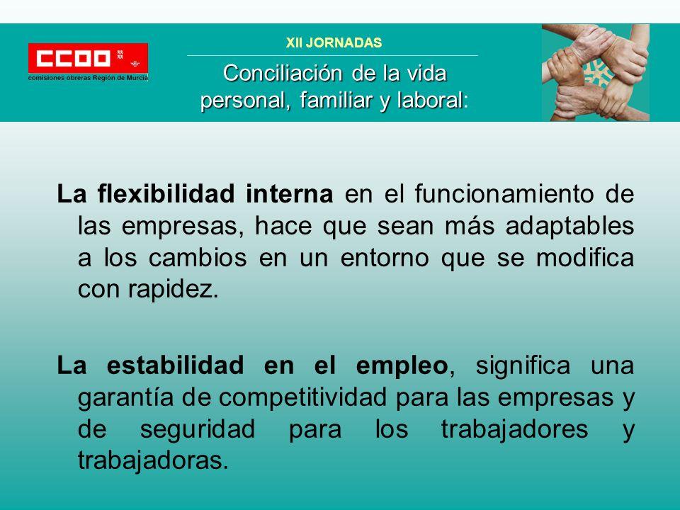 La flexibilidad interna en el funcionamiento de las empresas, hace que sean más adaptables a los cambios en un entorno que se modifica con rapidez.