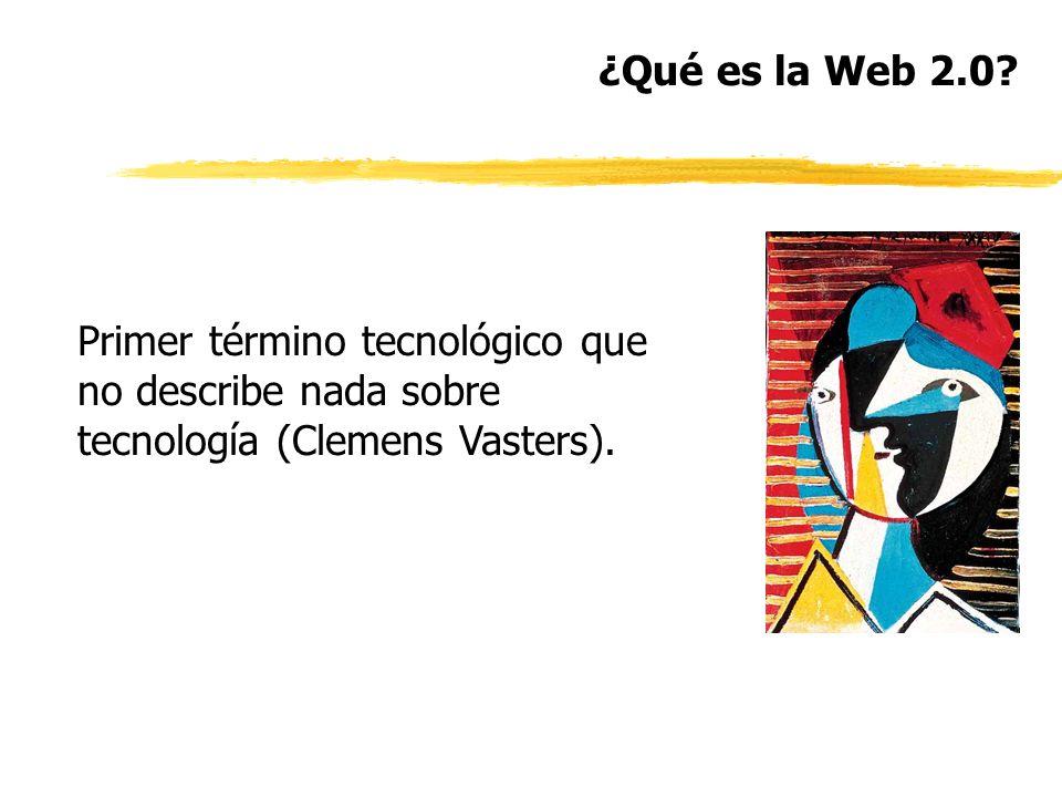 ¿Qué es la Web 2.0.