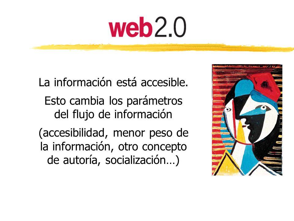 La nueva web propicia el desarrollo de capacidades y competencias hasta ahora poco frecuentes: colaboración, equipos de trabajo, conocimiento abierto, trabajos no conclusivos, etc.