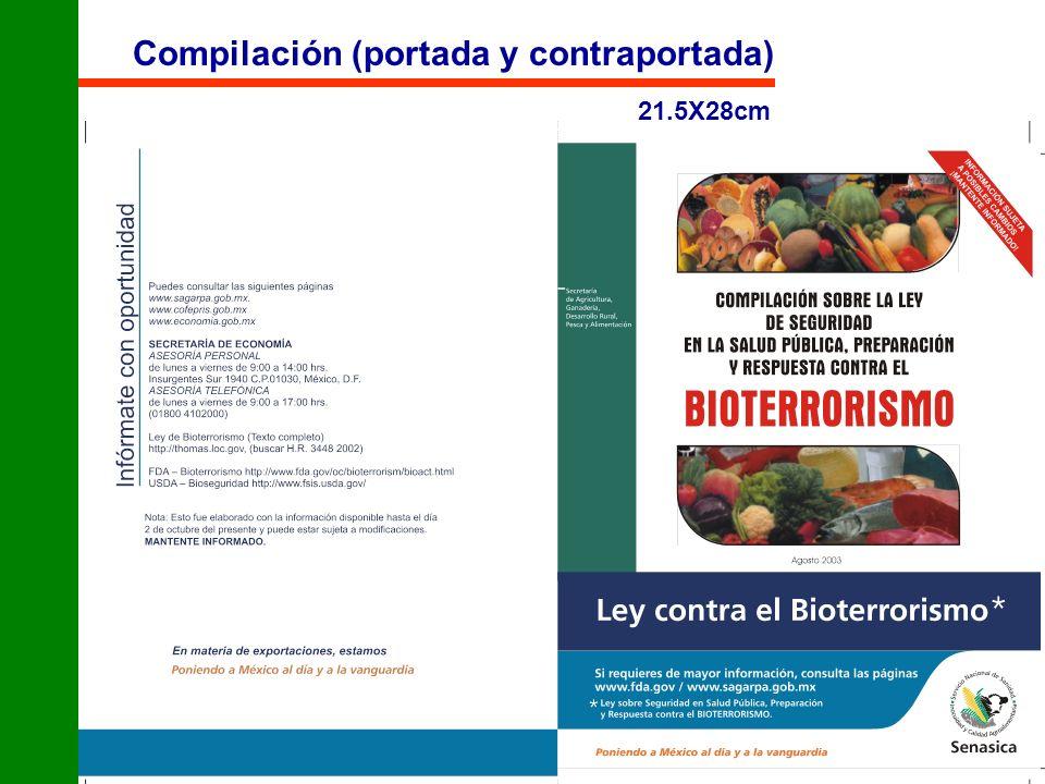 Compilación (portada y contraportada) 21.5X28cm