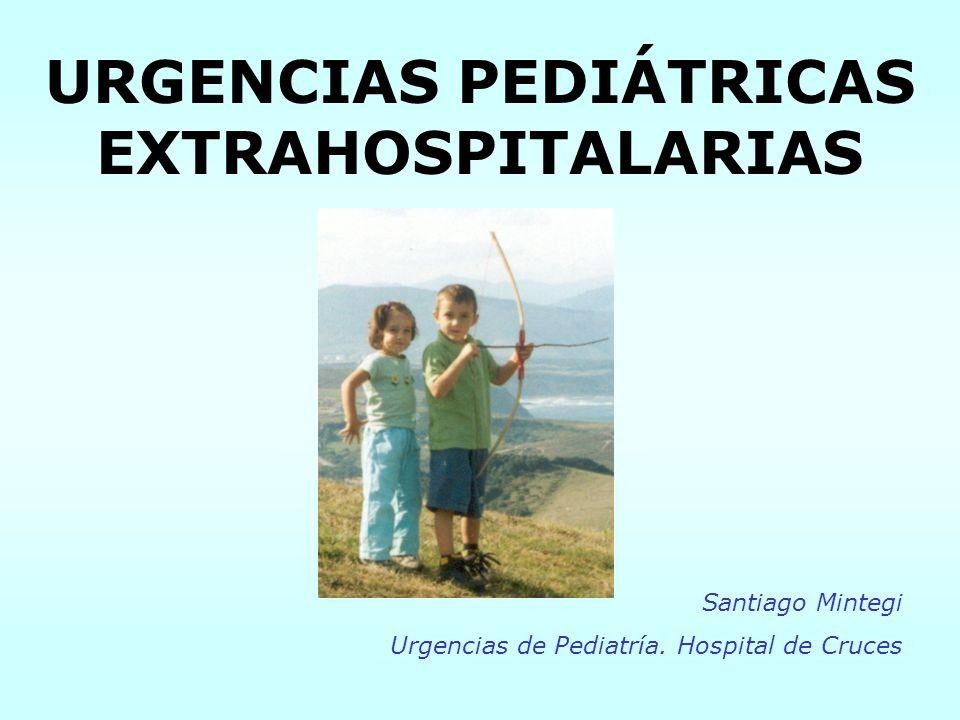 URGENCIAS PEDIÁTRICAS EXTRAHOSPITALARIAS Santiago Mintegi Urgencias de Pediatría. Hospital de Cruces