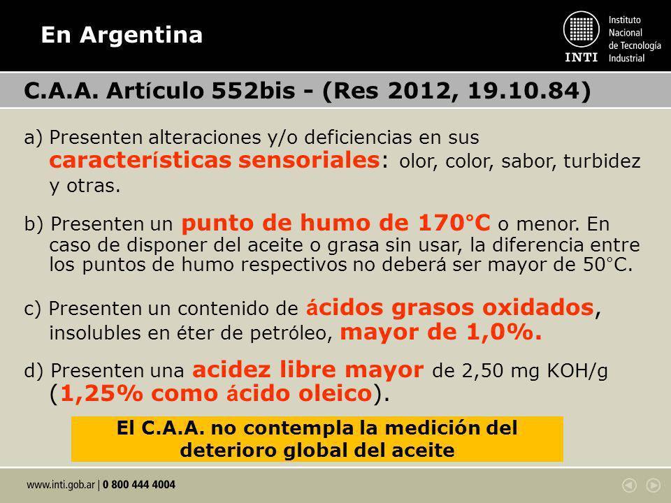 En Argentina C.A.A.