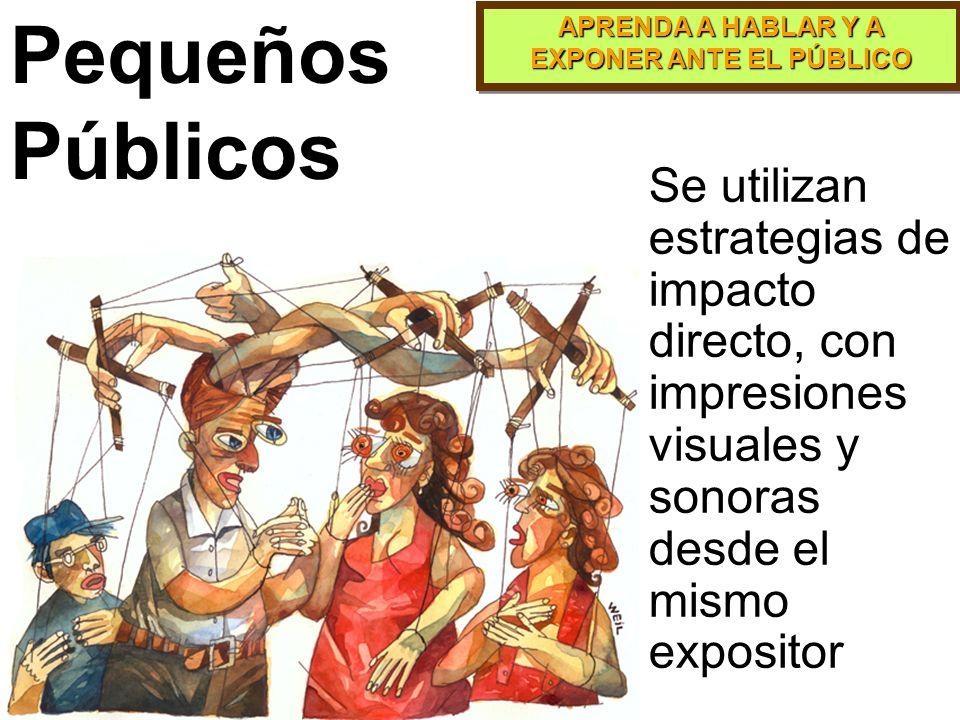 APRENDA A HABLAR Y A EXPONER ANTE EL PÚBLICO El muro de ojos