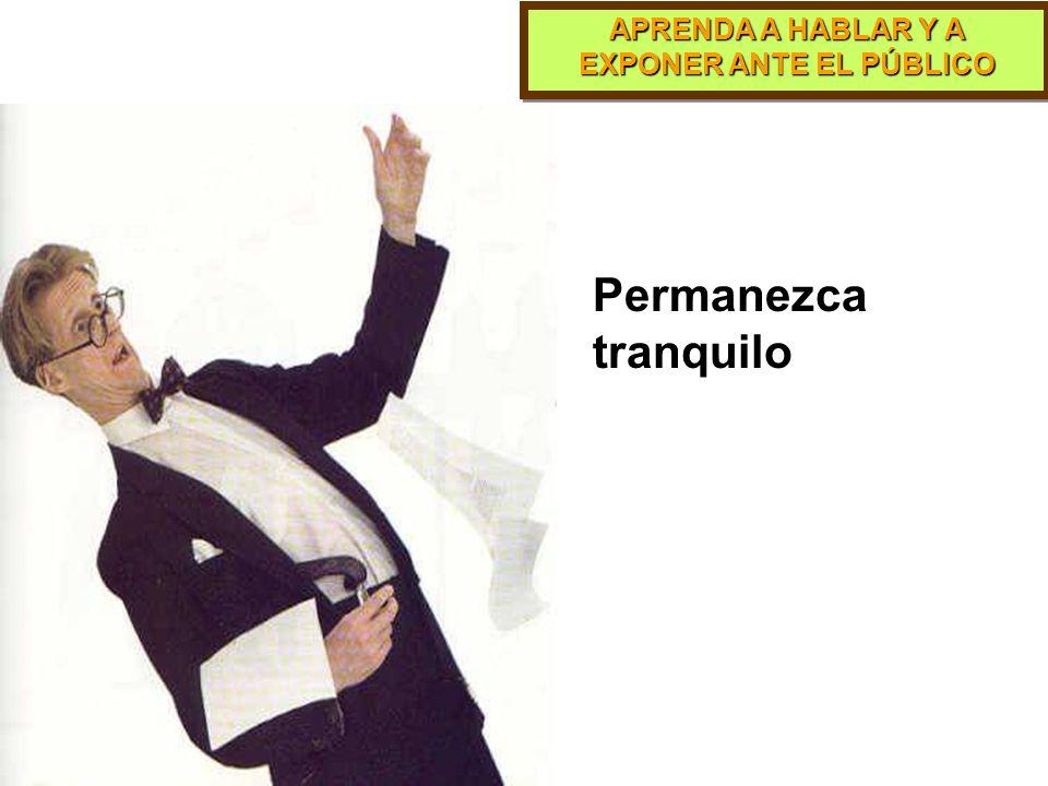 APRENDA A HABLAR Y A EXPONER ANTE EL PÚBLICO PARTE 10 El Miedo Escénico