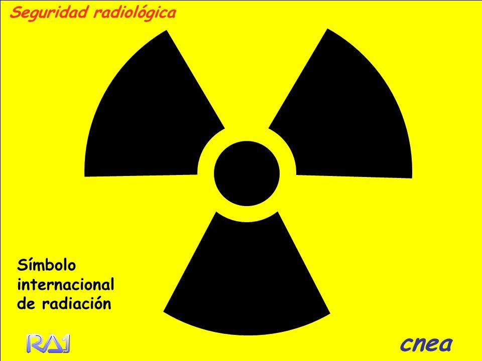 Seguridad radiológica Símbolo internacional de radiación