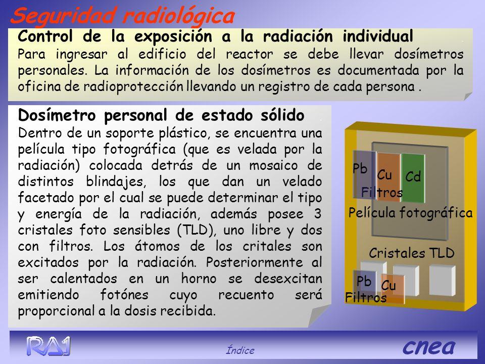 Película fotográfica Cristales TLD Pb Cu Seguridad radiológica Dosímetro personal de estado sólido. Dentro de un soporte plástico, se encuentra una pe