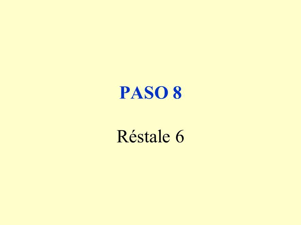 PASO 9 Al número obtenido asígnale una letra según el orden del alfabeto ( 1=A, 2=B, 3=C, etc.... )