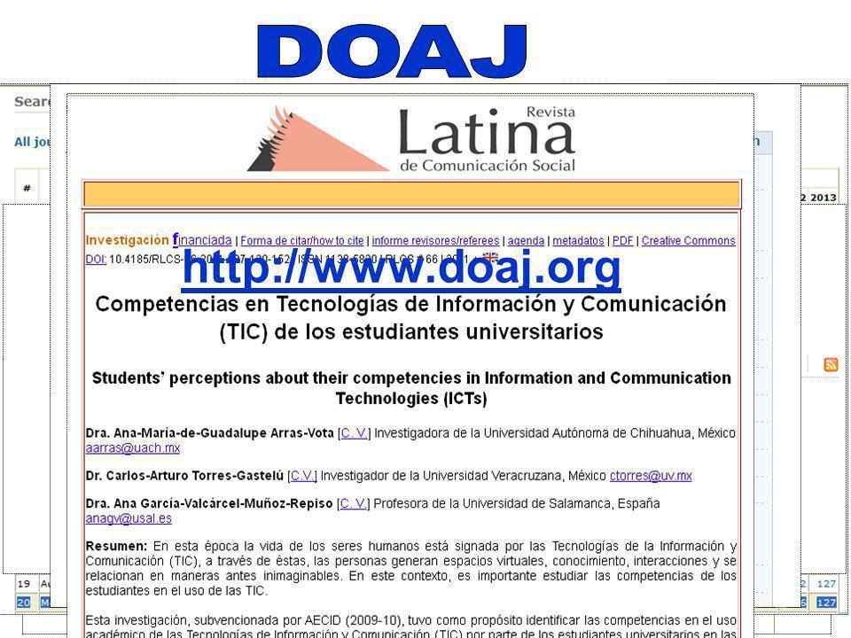 Más de 9 mil publicaciones arbitradas académicas, científicas y culturales en Acceso Abierto (AA en español OA en inglés), de más de 120 países, en diversos idiomas.