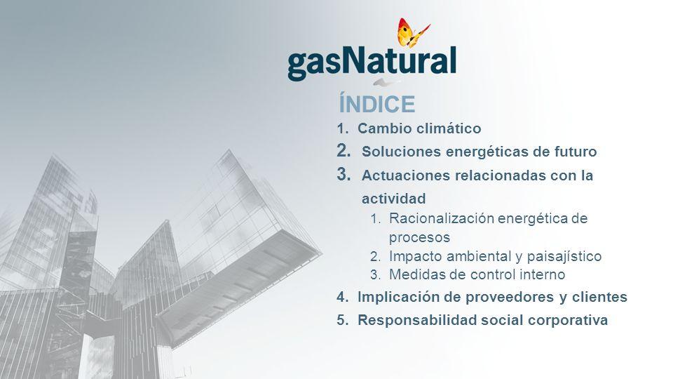 ÍNDICE 1. Cambio climático 2. Soluciones energéticas de futuro 3.