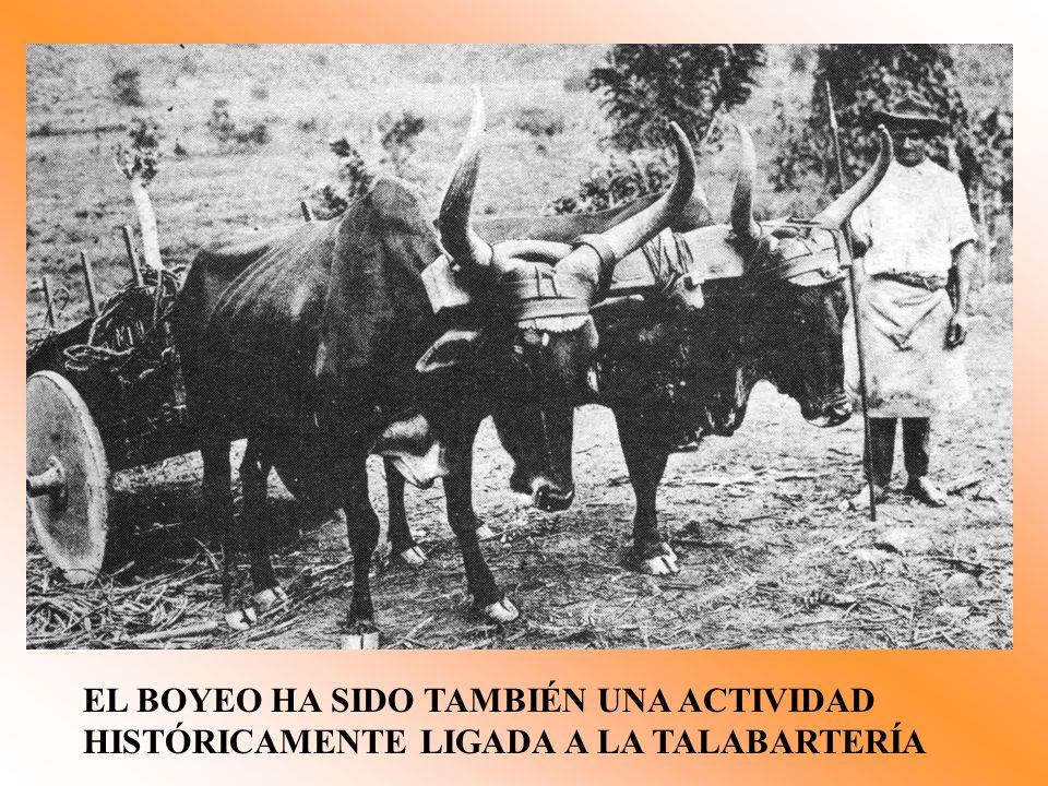 EL BOYEO HA SIDO TAMBIÉN UNA ACTIVIDAD HISTÓRICAMENTE LIGADA A LA TALABARTERÍA