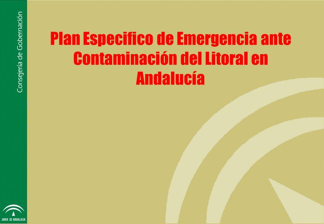 Introducción Plan Especifico de Emergencia ante la Contaminación del Litoral Análisis del Riesgo Análisis de la Peligrosidad Análisis de la Toxicidad y Alcance del Vertido Análisis de Vulnerabilidad Evaluación del Riesgo Estructura operativa Objetivos Ámbito Territorial