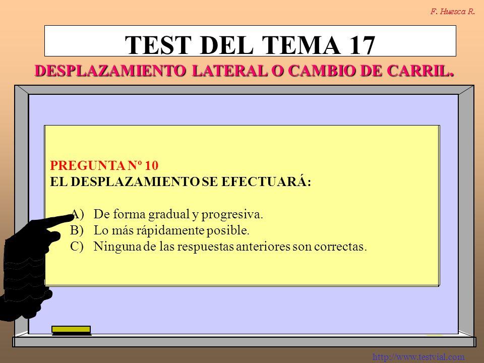 http://www.testvial.com FIN DEL TEMA 17.