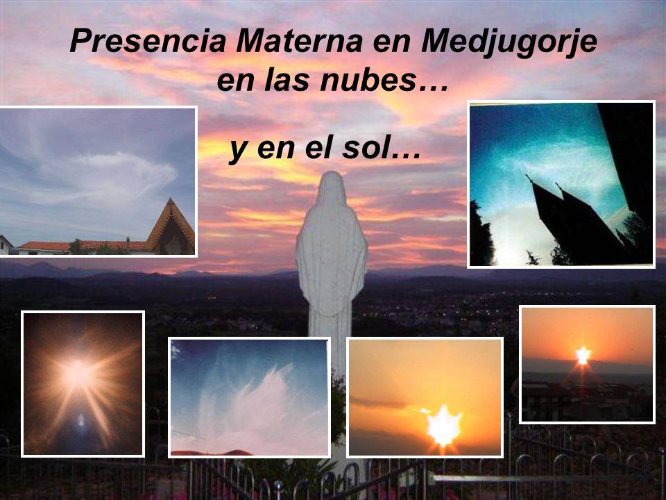 Presencia Materna en Medjugorje en las nubes… y en el sol…