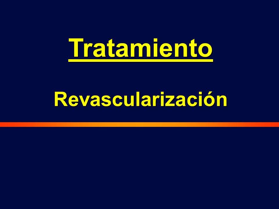 Tratamiento Revascularización Tratamiento Revascularización