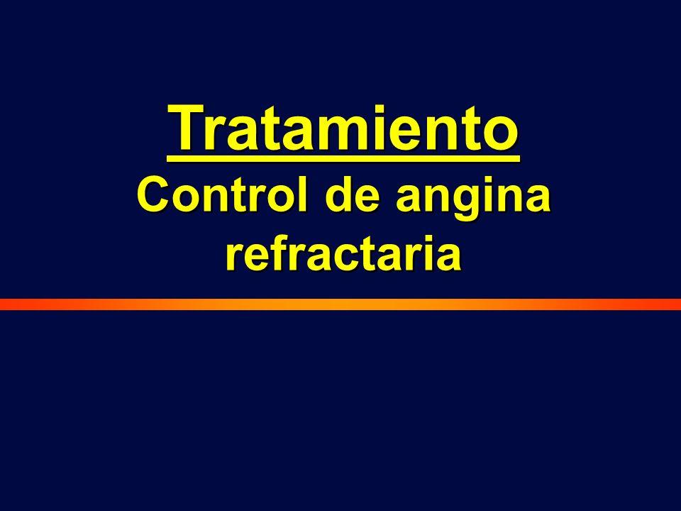 Tratamiento Control de angina refractaria Tratamiento Control de angina refractaria