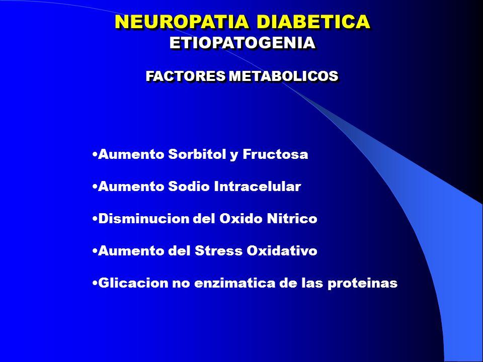NEUROPATIA DIABETICA AUTONOMICA ALTERACIONES UROGENITALES NEUROPATIA DIABETICA AUTONOMICA ALTERACIONES UROGENITALES Vejiga Neurogenica Infecciones urinarias Disfuncion Sexual Eyaculacion Retrograda