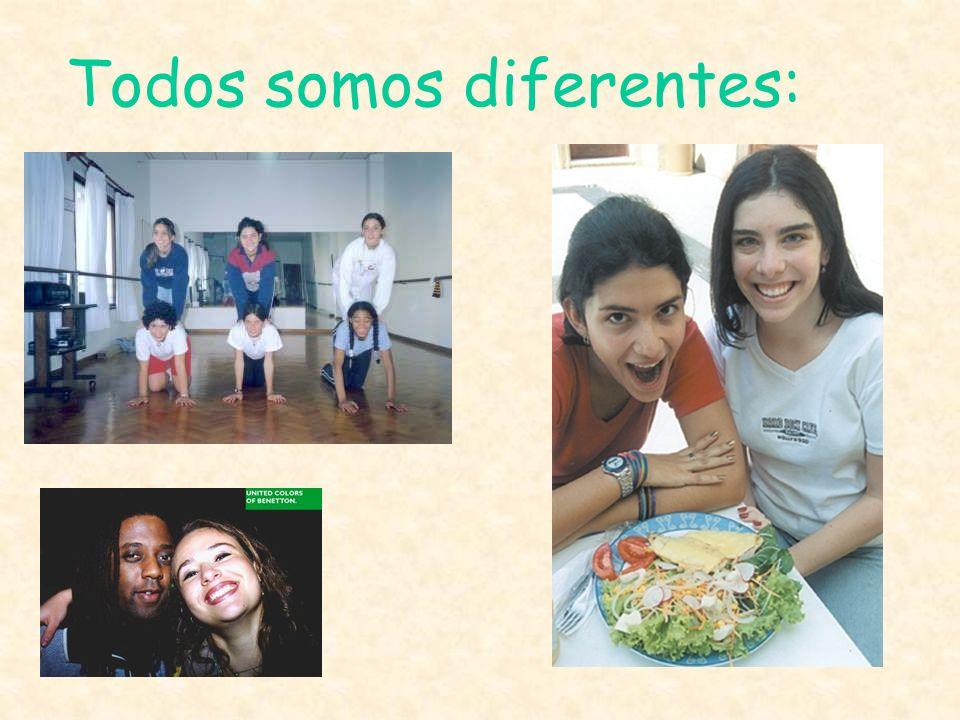 Todos somos diferentes:
