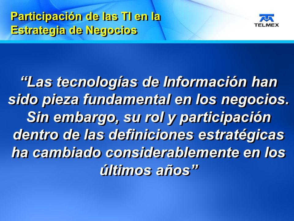 Las tecnologías de Información han sido pieza fundamental en los negocios.