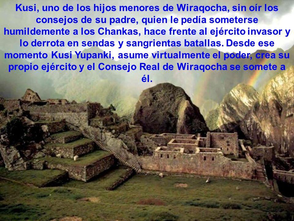 Llegó a su máximo esplendor durante el reinado del Inka Wiraqocha, quien gobernó el Cusco como un rey bondadoso, manso y querido por sus súbditos.