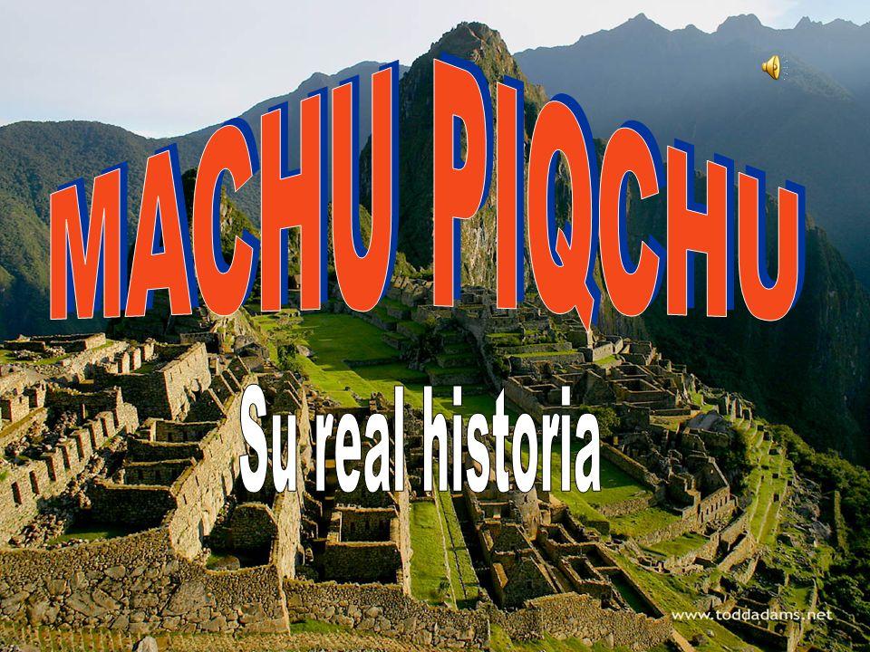 Mucho tiempo después de Babilonia, La Gran Muralla, Las Pirámides …. Los hombres fueron a instalarse en un lugar alto, colgado, casi inaccesible Los h