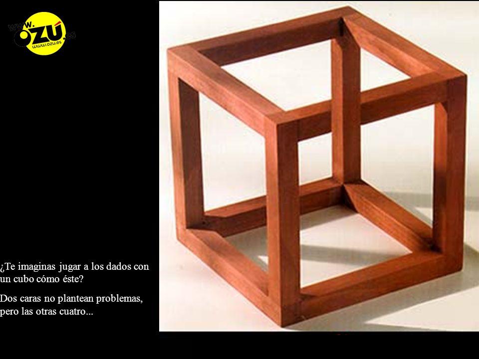 ¿Te imaginas jugar a los dados con un cubo cómo éste.