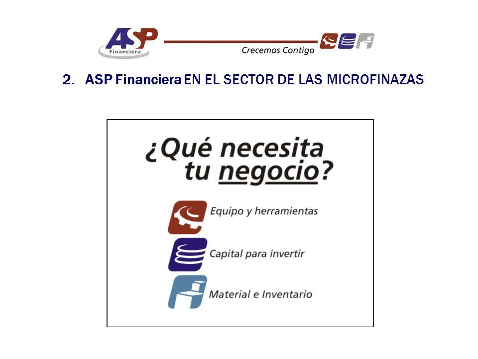 2. ASP Financiera EN EL SECTOR DE LAS MICROFINAZAS