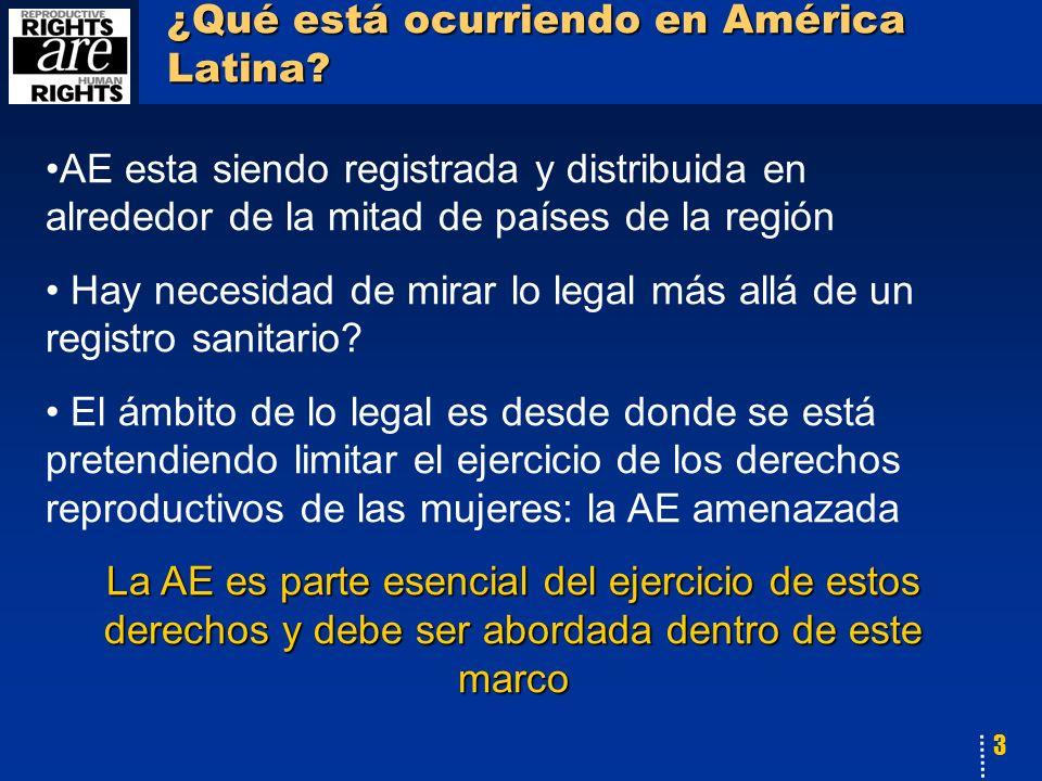 3 ¿Qué está ocurriendo en América Latina.