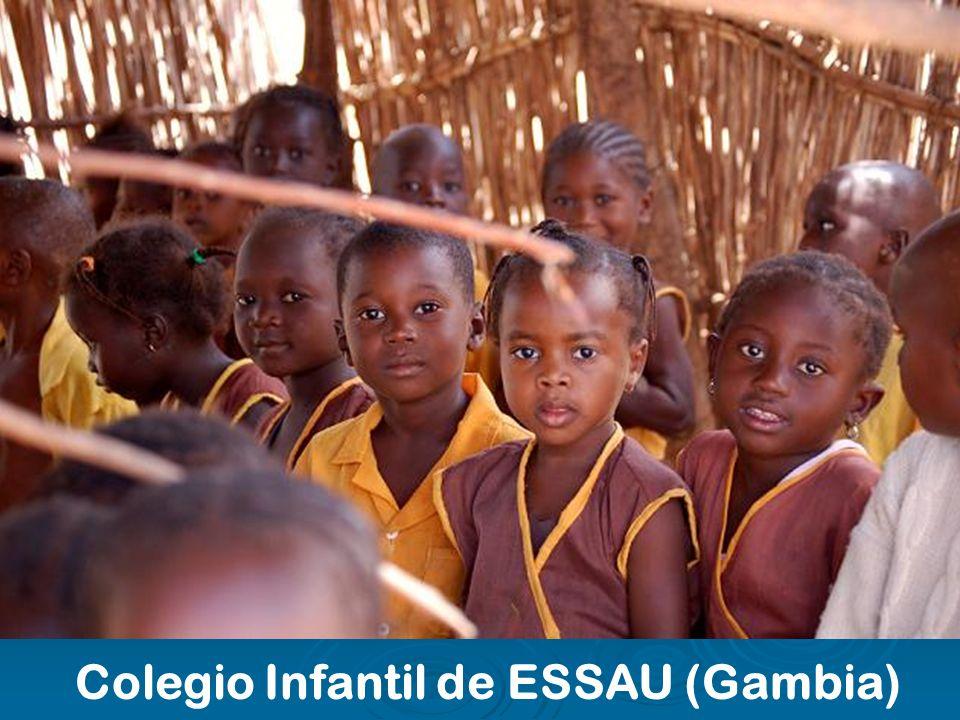 Colegio Infantil de ESSAU (Gambia)