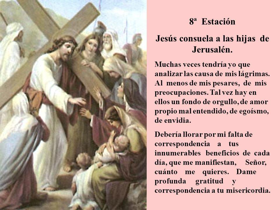 9ª Estación Jesús cae por tercera vez Tercera caída.