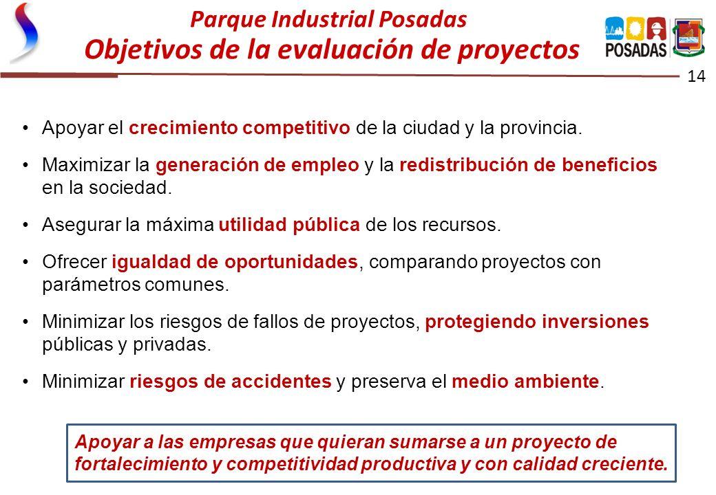 14 Apoyar el crecimiento competitivo de la ciudad y la provincia. Maximizar la generación de empleo y la redistribución de beneficios en la sociedad.