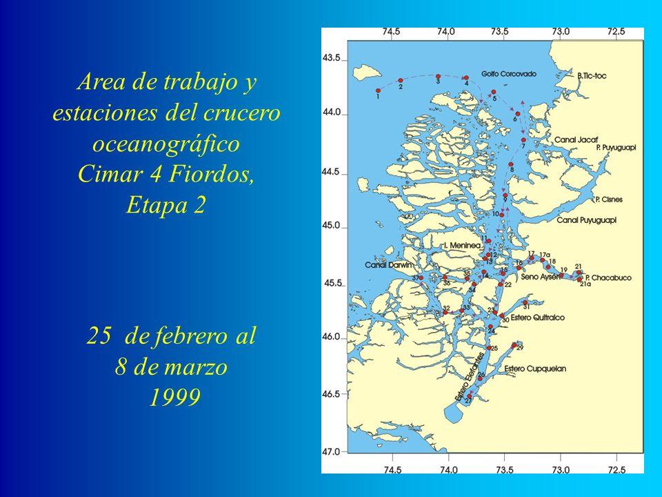 Equipo de determinación de amonio del agua de mar.