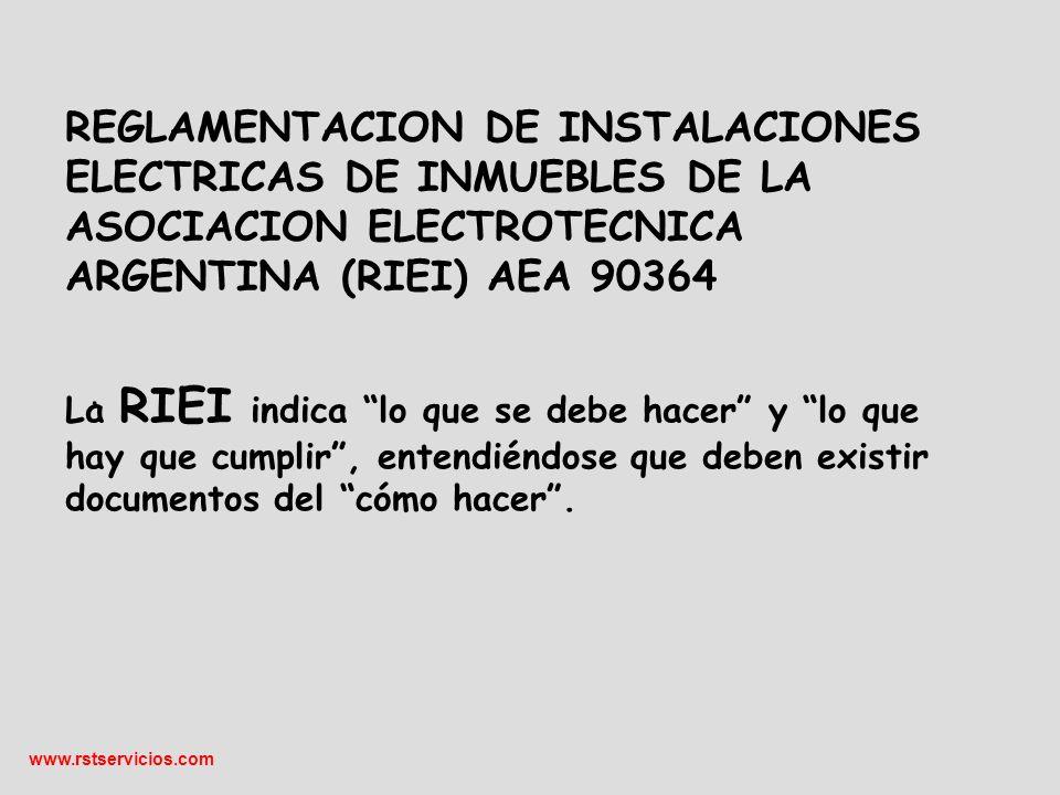 www.rstservicios.com El marco NORMATIVO CABLES NORMALIZADOS.